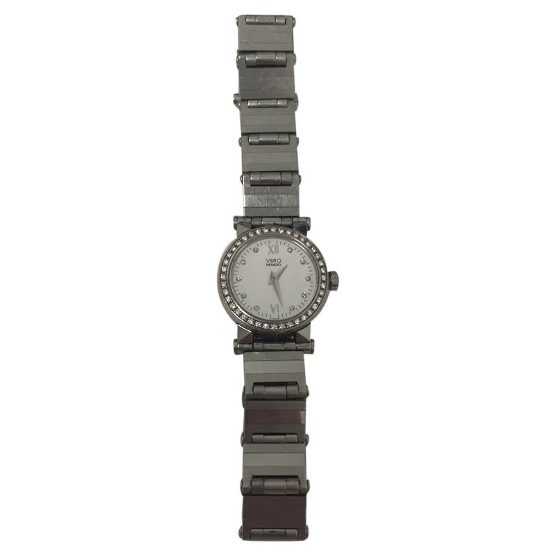 """Image of """"Movado Vizio Stainless Steel with Diamond Crown 26mm Womens Watch"""""""