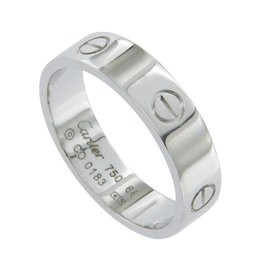 Cartier Love 18k Gold 6 Wide Band Ring Size EU 68-US 12 1/4