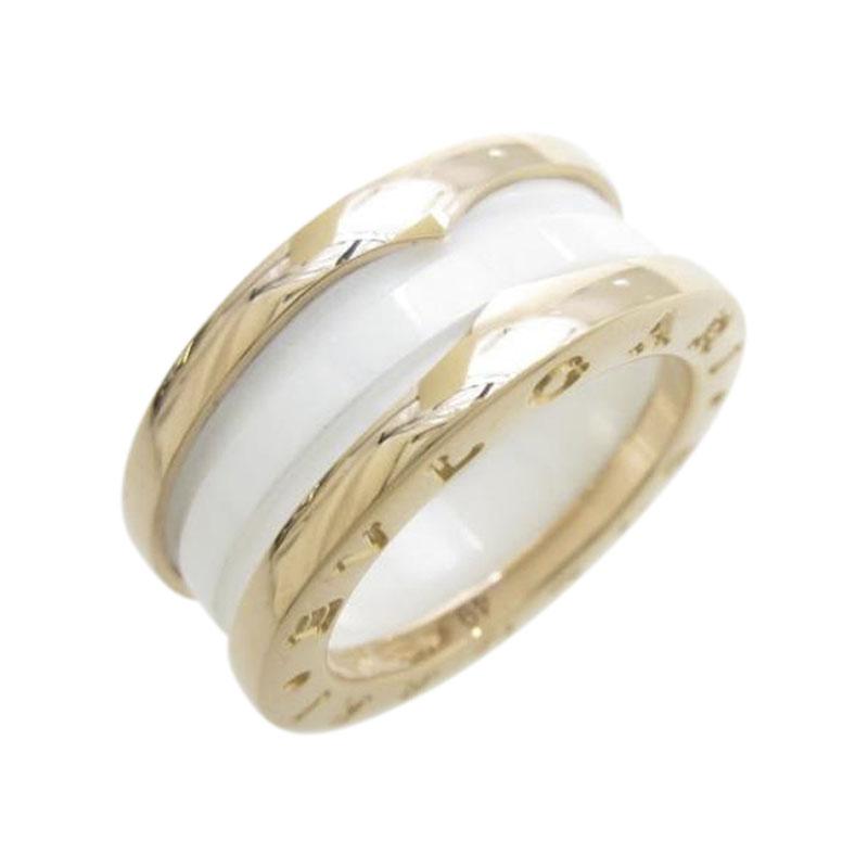 "Image of ""Bulgari 18K Pink Gold B.zero1 Band Ring Size 4.5"""