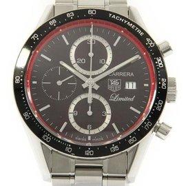 Tag Heuer CV2019.BA0786 Carrera Tachometer Chrono Stainless Steel 41.5 mm Men's Watch