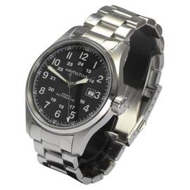 Hamilton Khaki Stainless Steel Automatic 44mm Mens Watch