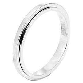 Piaget G34PR300 18K White Gold Ring Size 9.25