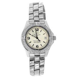 Breitling Colt Stainless Steel & Diamond Bezel Womens Watch