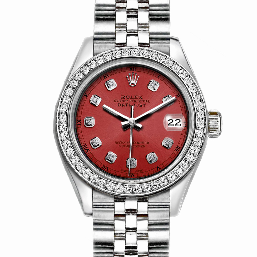 """Image of """"Rolex Datejust Stainless Steel with Salmon Dial 36mm Mens"""""""