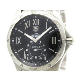 Tag Heuer Link WJF211N Star Dust Stainless Steel Black Dial 39mm Automatic Mens Watch