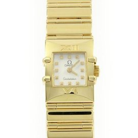 Omega Constellation 1131 71 Yellow Gold Quartz 20mm Womens Watch