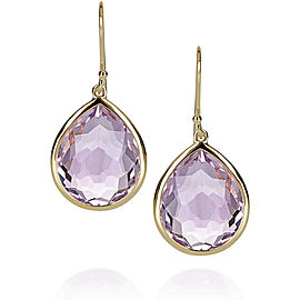 Ippolita 18K Yellow Gold & Amethyst Teardrop Earrings