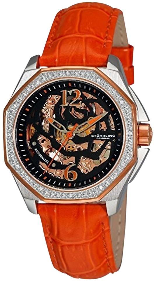 """Image of """"Stuhrling Aquadiver Nemo 231S.1115F1 Stainless Steel & Leather 35mm"""""""