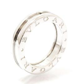 Bulgari B.zero1 18K White Gold Ring Size 5.25