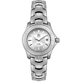 Tag Heuer Link WJ1310.BX7283 Stainless Steel & Silver Dial Quartz 27mm Womens Watch