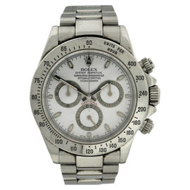 Rolex Cosmograph Daytona Stainless Steel 40mm Mens Watch