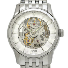 Oris Cages 7670 Stainless Steel Automatic 40mm Mens Watch