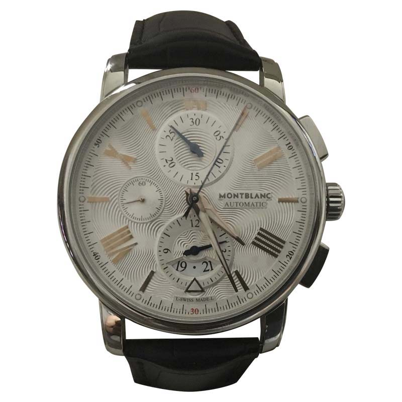 "Image of ""Montblanc Star 4810 Stainless Steel Automatic 43mm Mens Watch"""