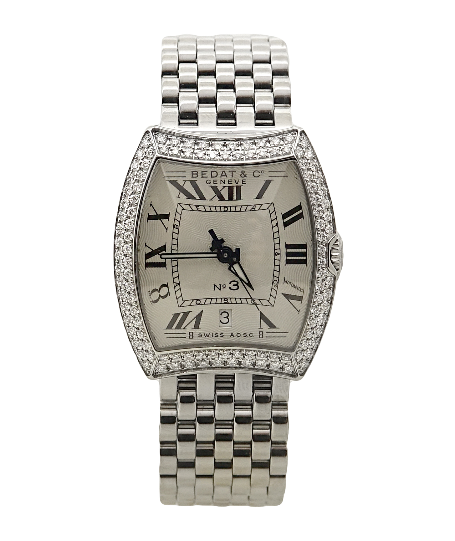 "Image of ""Bedat & Co. 314 No 3 Stainless Steel & Diamond Bezel Manual 27.50mm"""