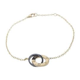 Cartier Love 18K Pink Gold / Ceramic Bracelet