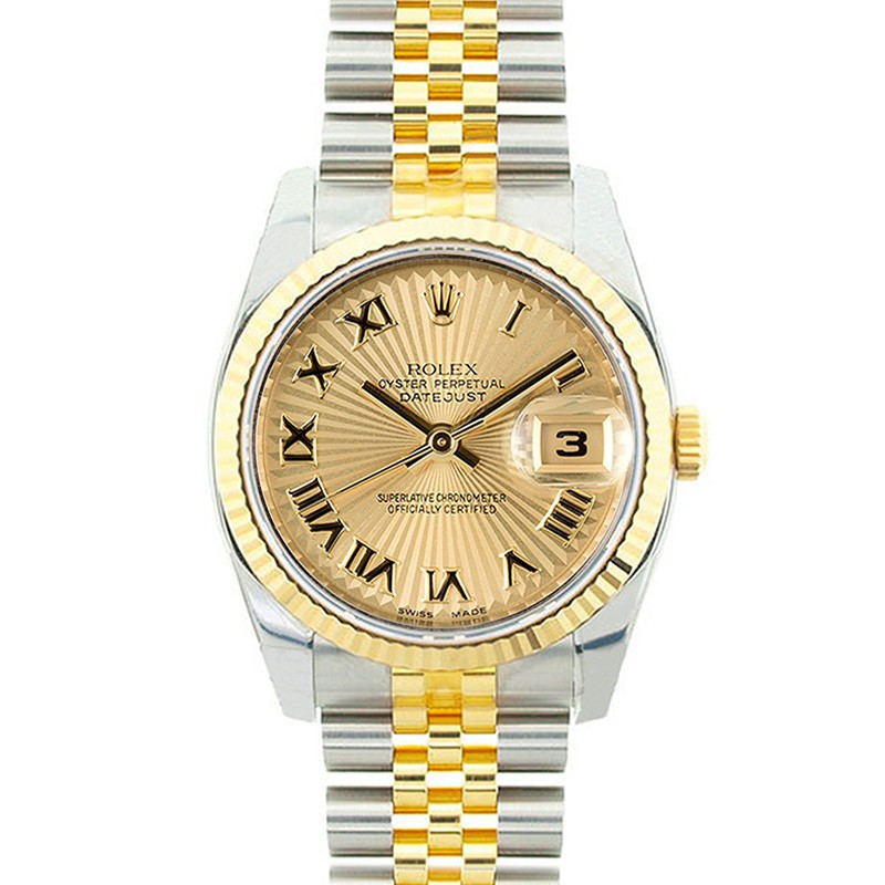 "Image of ""Rolex Datejust 116233 18K Yellow Gold & Stainless Steel 36mm Mid"""