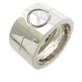 Cartier High Love 18K White Gold Ring Size 4.5