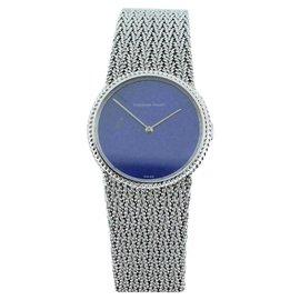 Audemars Piguet Classique 18K White Gold & Blue Lapis Womens Watch