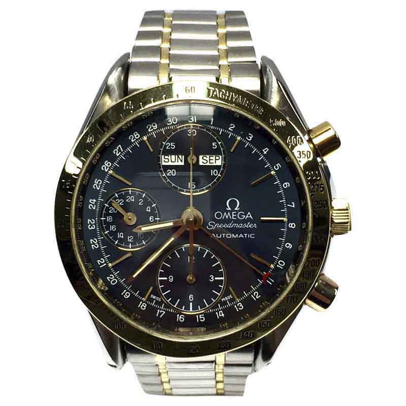 """Image of """"Omega Speedmaster 18K Yellow Gold & Stainless Steel 39mm Watch"""""""