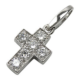 Cartier 18K White Gold and Diamond Pendant