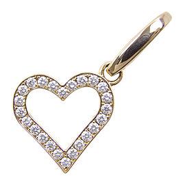 Cartier 18K Pink Gold and Diamond Pendant