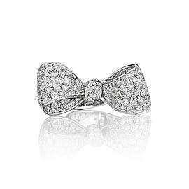18K Gold Medium Diamond Ring