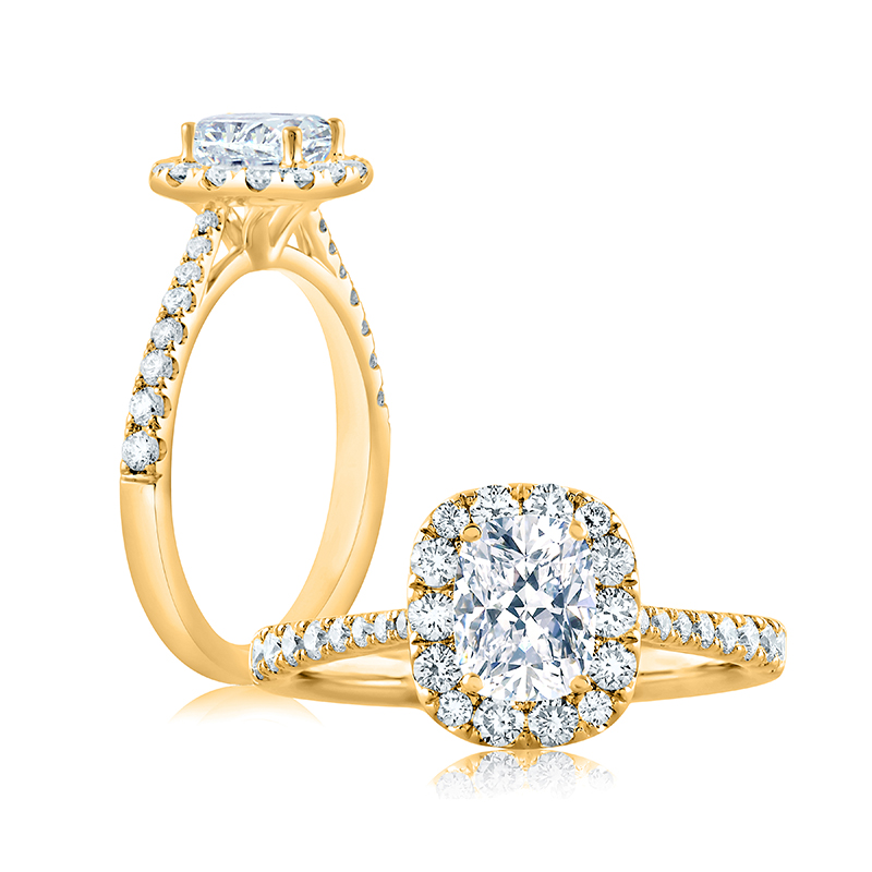 "Image of ""14K Yellow Gold 0.5ct J/si2 Ring"""