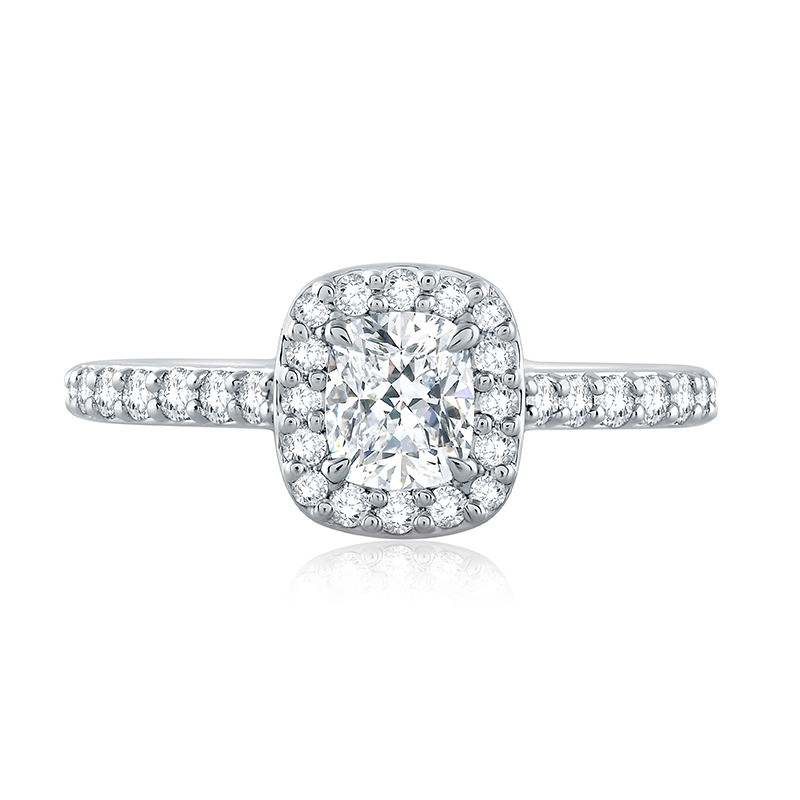 "Image of ""14K White Gold 0.35ct I/si1 Ring"""