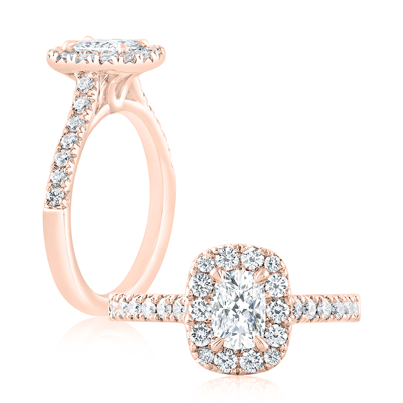 "Image of ""14K Rose Gold 0.31ct G/i1 Ring"""