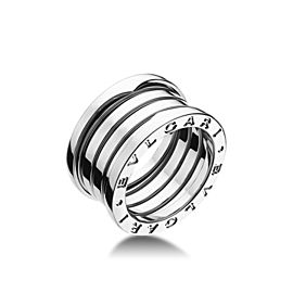 Bvlgari Bulgari B. Zero 1 18K White Gold 4 Band Ring AN191026