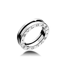 Bvlgari Bulgari B. Zero 1 18K White Gold 1 Band Ring AN852423 Size: 5.5