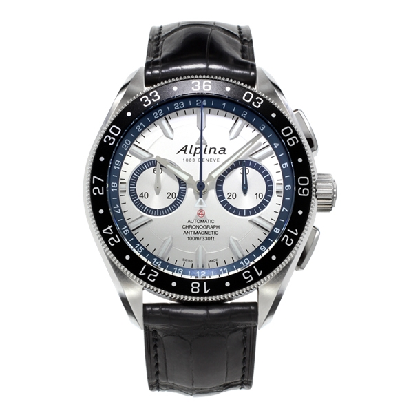 "Image of ""Alpina Alpiner 4 Chronograph 44 mm Mens Watch"""