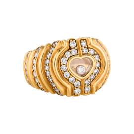 Chopard Happy Heart 18K Gold Ring