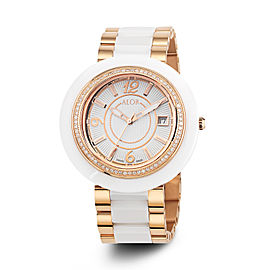 CAVO White Dial 43mm Womens Watch