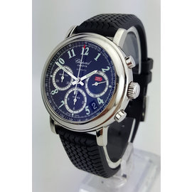 Chopard Mille Miglia 8331 Automatic Stainless Steel Black Strap Mens Watch
