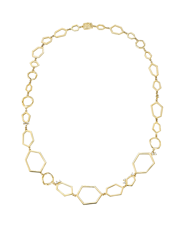 "Image of ""18K Gold Jackson Multi Link Necklace"""