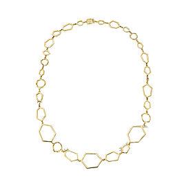 18K Gold Jackson Multi Link Necklace