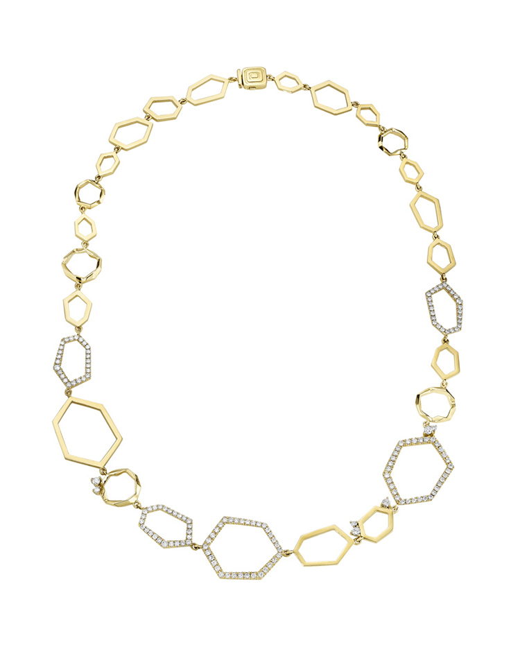 "Image of ""18K Gold Jackson Diamond Necklace"""