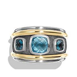 David Yurman Renaissance With Blue Topaz Ring