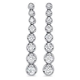 Graduating Diamond Drop Earring