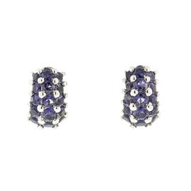 18k Salavetti Contemporary Tanzanite Earings