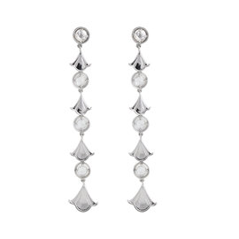 18K Marina B. Pampille Rose Cut Diamond Earings