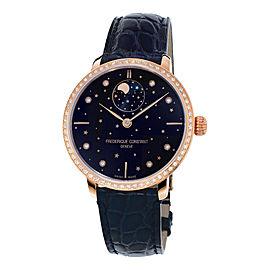 Slimline Manufacture Moonphase Stars Watch