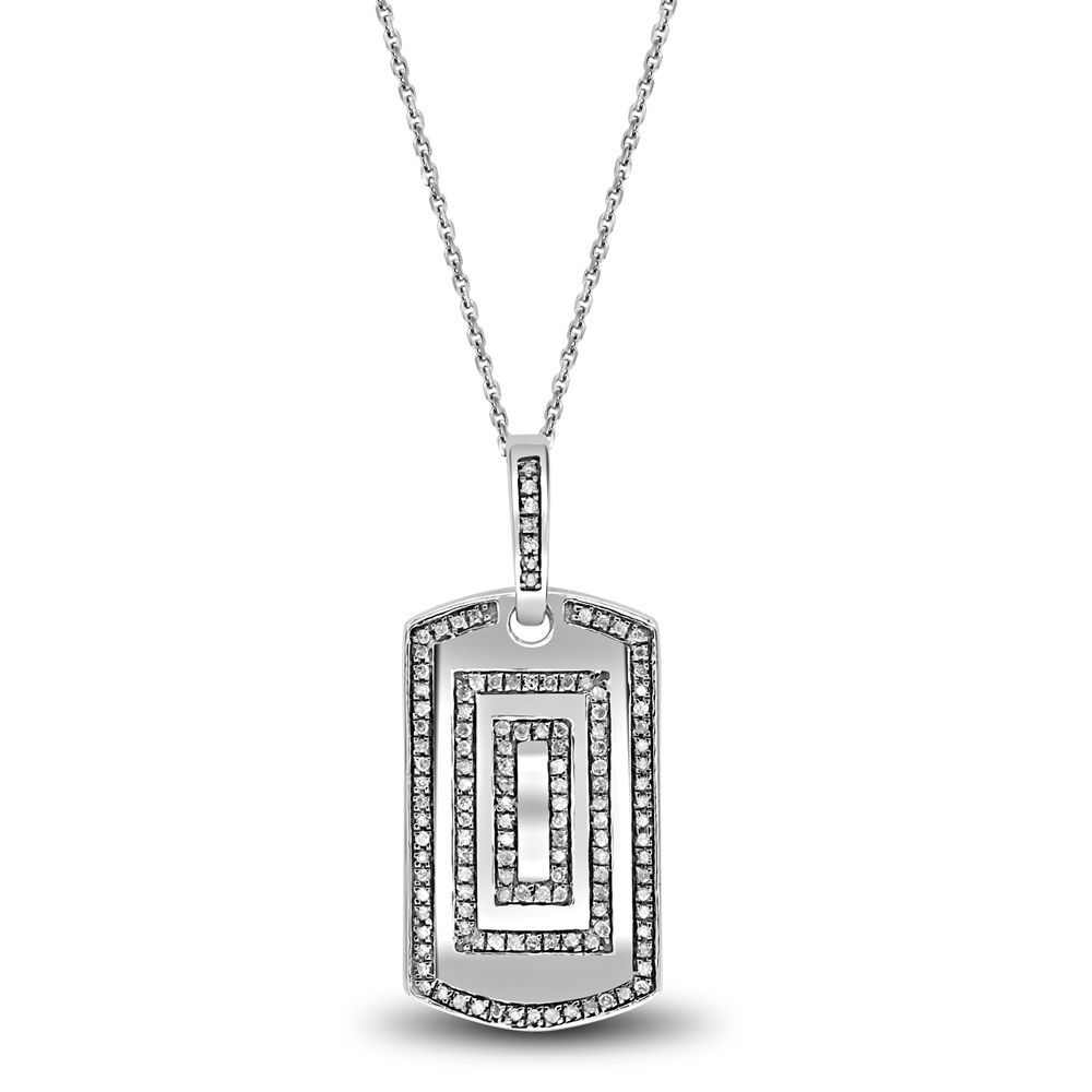 """Image of """".925 Silver Luv Eclipse 0.397ct Pendant"""""""
