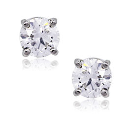Tiffany & Co. Platinum and Diamond Stud Earrings