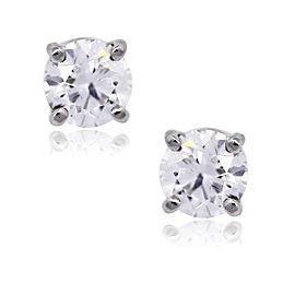 Tiffany & Co. Platinum and Diamond Stud Earrings