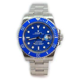Rolex Submariner 116610 Heavy Band w/ Custom Blue Ceramic Bezel and Custom Blue Dial Most Current Model Watch