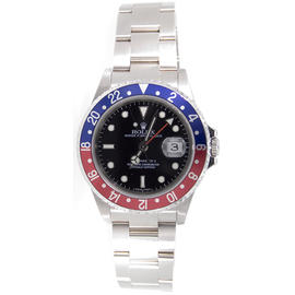 Pepsi Rolex GMT Master II 16710 Classic Stainless Steel Model with