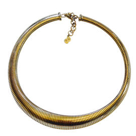 Christian Dior 1980's Snake Choker Necklace