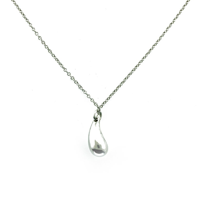 "Image of ""Elsa Peretti Small Tear Drop Necklace"""